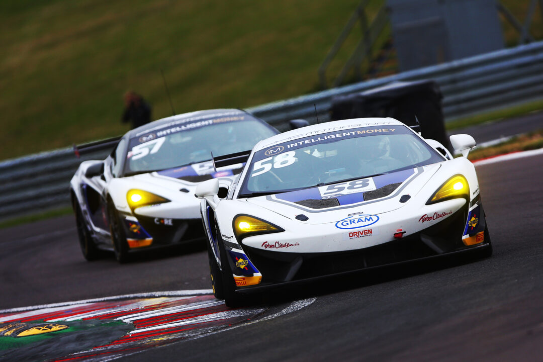 HHC British GT Championship at Donington Park